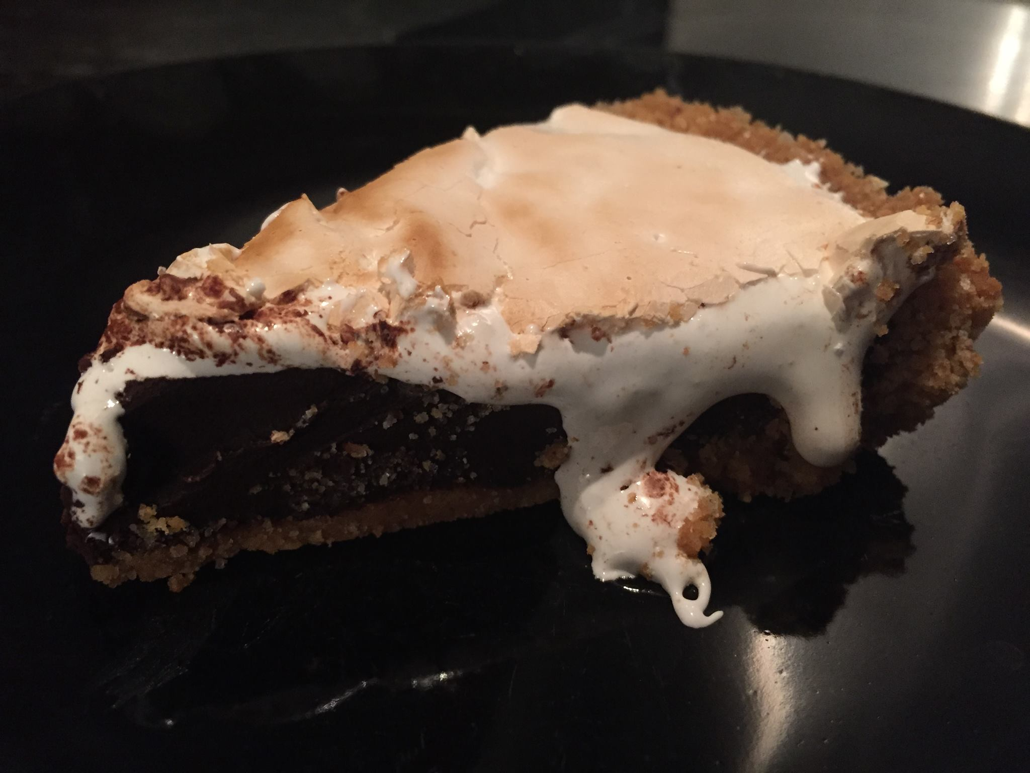 Quick and Easy S'mores Pie